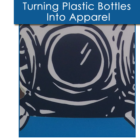 Dumpster Diver Turns Plastic Bottles Into Apparel