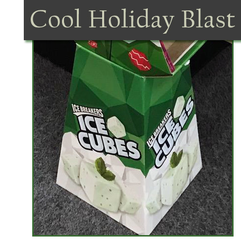 Ice Breakers Floor Display Offers Cool Holiday Blast