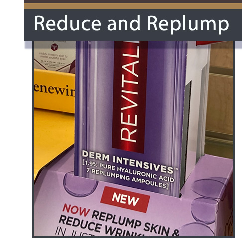 L'Oreal Display Helps Reduce And Replump Skin